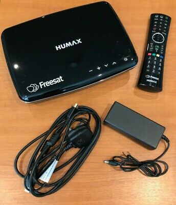 Humax HDR-1100S Freesat Satellite TV Recorder 1TB Hard Drive Twin Tuner