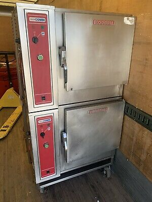 Blodgett Double Stacked Convection Combi Oven Model Bcs-6