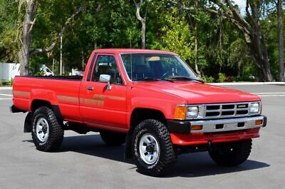 1986 Toyota Pickup SINGLECAB LONGBED 4WD RN66 - 200 HD PICS & HD VIDS 1986 TOYOTA PICKUP SINGLE CAB 4X4 TACOMA 22R-E AUTOMATIC HILUX TACOMA LOW MILES