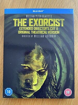 THE EXORCIST - Special Edition Extended Directors Cut BLU RAY - NEW