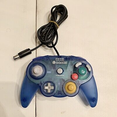 HORI Nintendo GameCube Controller Pad Clear Blue GC Switch Wii - Import