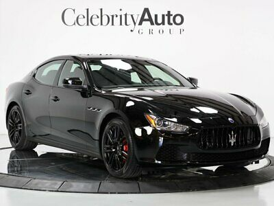 """2017 Ghibli S Q4 """"Only 2K Miles"""" Nerissimo Edition 1 of 450 2017 MASERATI GHIBLI S Q4 """"ONLY 2K MILES"""" NERISSIMO EDITION 1 OF 450"""