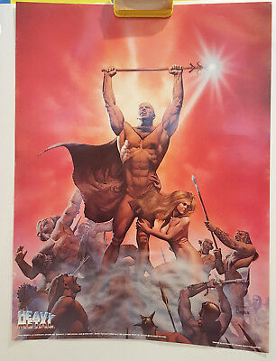 Heavy Metal 18 X 24 Movie Poster 1981 29 49 Picclick