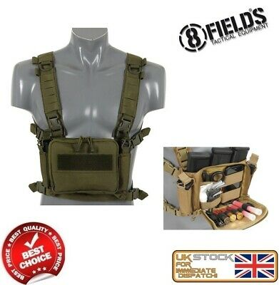 Viper Chest Rig Special Ops Military Style Army Combat Vest Pouch Airsoft Cadet
