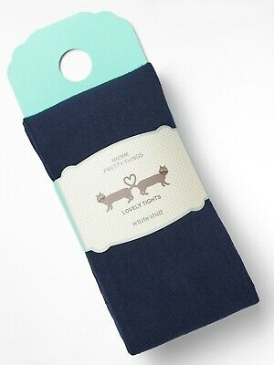 next heather brown  or  navy marlribbed knitted warm winter tights small new m S
