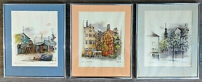ESTATE FIND MADS STAGE NAUTICAL SCENE LITHOGRAPH PRINT DENMARK PRINTING