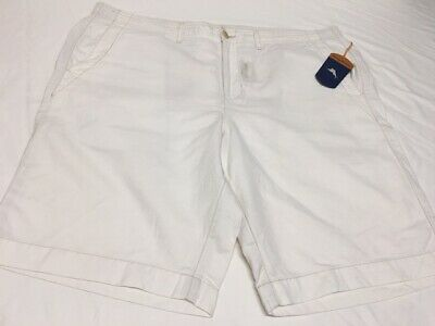 NWT $99 Tommy Bahama Shorts Mens Size M Continental Ivory Aegean Lounger NEW