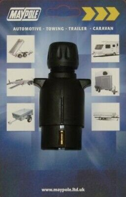 Maypole MP021 N-Type 7-Pin Trailer Board Plug 12V