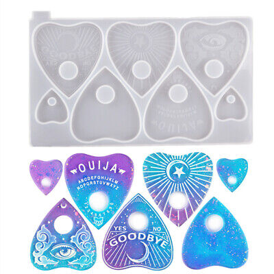 Jewelry Making Mould Divination Board Mold Ouija Board Resin Molds Planchette