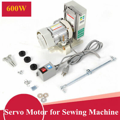 Tie Bar Brushless Servo Motor for Industrial Sewing Machine Energy Saving 600W