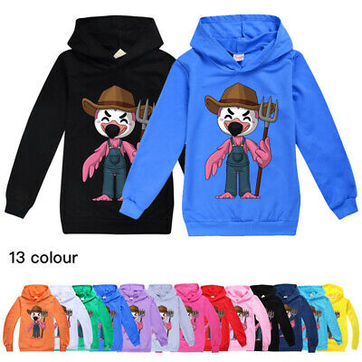 New Flamingo Flim Flam Boys Girls Hoodies Kids Casual Sweatshirt Jumper Tops