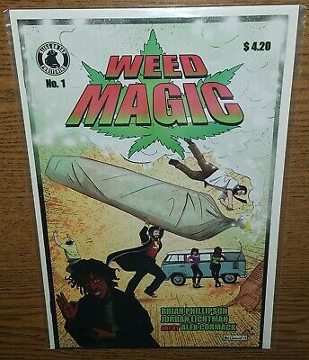 Weed Magic #1 Bliss On Tap Publishing ALE GARZA Exclusive VARIANT