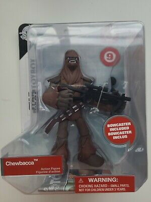 Star Wars Chewbacca Action Figure Toybox Disney 461019012055