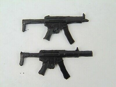 """Custom Weapons 1:12 Scale 6/"""" Figures 2x KRISS VECTOR Submachine Guns SMG 1//12"""