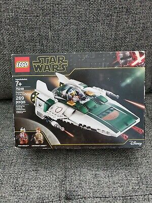 The Rise of Skywalker Resistance A-Wing Starfighter 75248.. 3S3 LEGO Star Wars