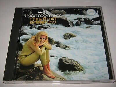 CALIFORNIA DREAMING by WES MONTGOMERY (1966) IMPORT ORIGINAL VERVE CD  11 Tracks