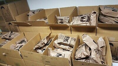 New 2022  MRE Meals US MILITARY MEALS READY TO EAT You Pick Meal. Survival Food