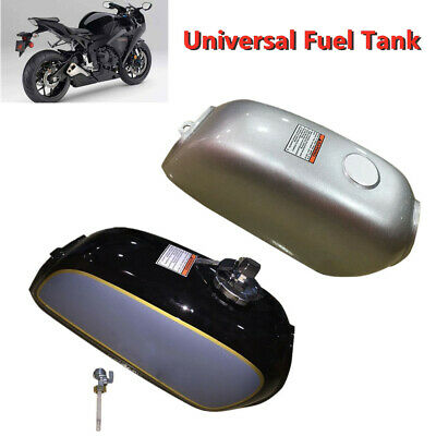 Motorcycle Cafe Racer Steel Fuel Gas Tank/&Cap Switch Part Fit for Honda BENLY50S