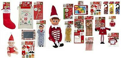 Naughty Elf Accessories Props Clothes Ideas Advent Kit Games Toy Christmas Pack