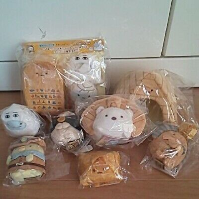 Sumikko Gurashi Egypt Exhibition Leiden Collaboration 8 set Tenori Plush Stuffed