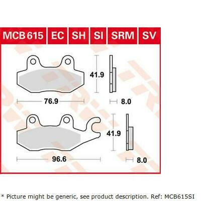 TRW SI Sinter Offroad Rear Brake Pads MCB523SI Aeon Cobra 400 Basic 2012
