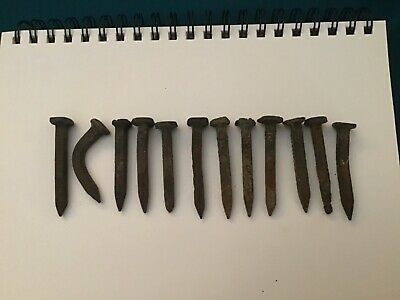 with indented numbers Galvanized Steel 1930 Railroad Date Nail