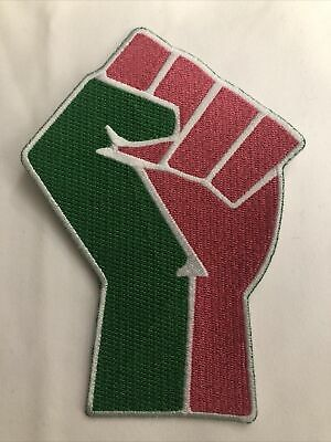 Alpha Kappa Alpha AKA Queen Power Fist Style Patch 4 1//2 Inch Iron On