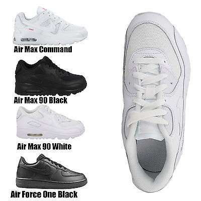 Kids Boys Girls Nike Air Max Lace Up Leather School Sports Running Trainers Shoe