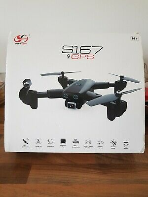 CSJ S167GPS Drone with Camera 4K Camera 5G WIFI FPV Drone Way-point Flying X1T3