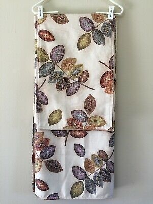 Croscill Mosaic Leaves Table Cover And 3 Placemats 27 99 Picclick