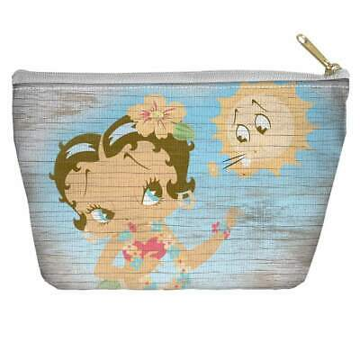 Betty Boop Hula Boop Accessory Tapered Bottom Pouch