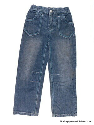 6-7 years boys Denim&Co blue straight jeans denim trousers