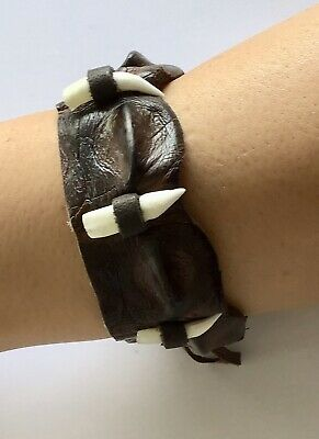 REAL CROCODILE WRIST BRACELET CUFF BEND Made in Australia