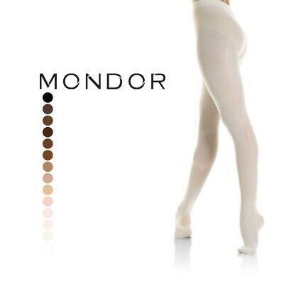 Details about  /MONDOR FOOTED DANCE TIGHTS WHITE 56 SIZES 8-10 10-12 12-14 S M L MODEL 345