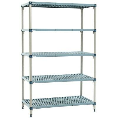 Metro Max Q Polymer Posts Shelving Kit 4 Shelves 1880x610mm GREAT CONDITION