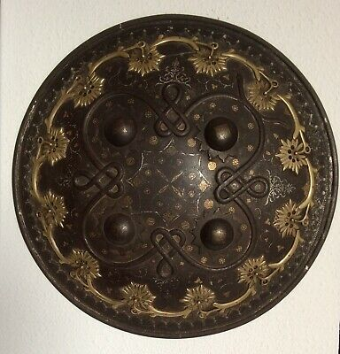 Antique Indo Persian Dhal Shield. 19th Century