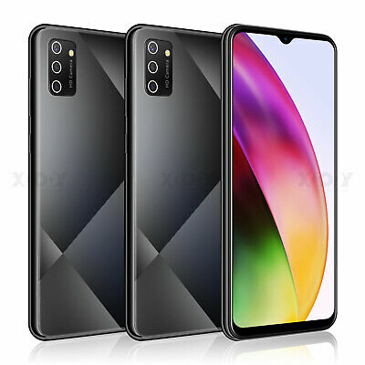 6.6 Inch Cheap Unlocked Android 9.0 Mobile Smart Phone 2SIM Quad Core Phablet