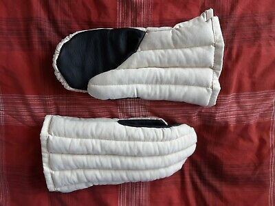 Padded Reenactment Gamboised Medieval Viking Gloves Mittens Armour HMB SCA Larp