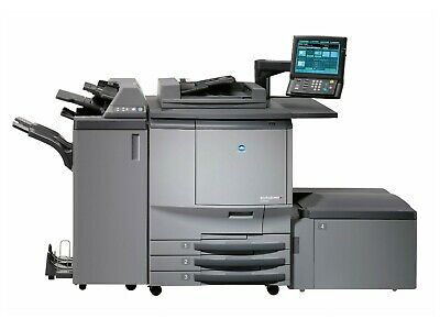 Konica Minolta C6501 printing press, with LCT and finisher