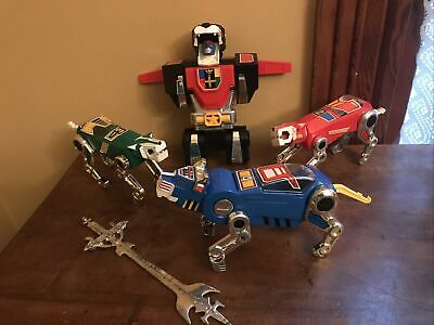 Vintage Panosh Place 1984 Voltron Yellow /& Blue Lion RED TAIL GUN cannon weapon