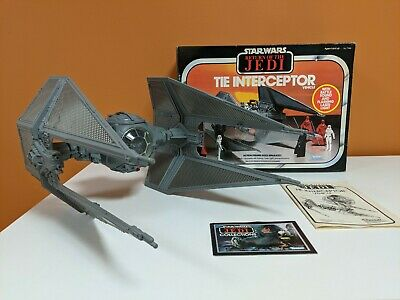 Return of the Jedi Vintage Tie Interceptor Vehicle Kenner w//Box 1983