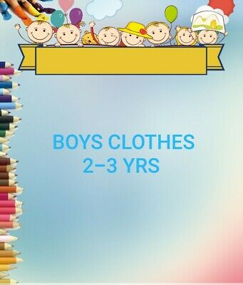Boys Clothes Age 2-3 Yrs Make Your Own Bundle Jeans Tops Trousers Shirts & More