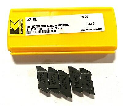 NG3125RK KC850 KENNAMETAL GROOVING INSERTS