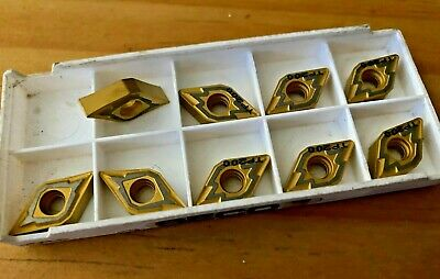Seco VNMG332-M3 TP200 Carbide Inserts VNMG160408-M3 Lot of 10