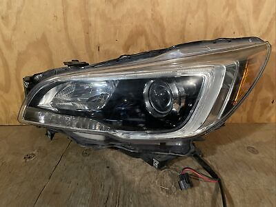 2015 2016 2017 Subaru Legacy Outback Headlight Left LH Driver Halogen OEM Lamp