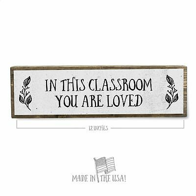 Metal Classroom Decor Desk Wall School Art Steel Plasma Cut TEACHER APPLE