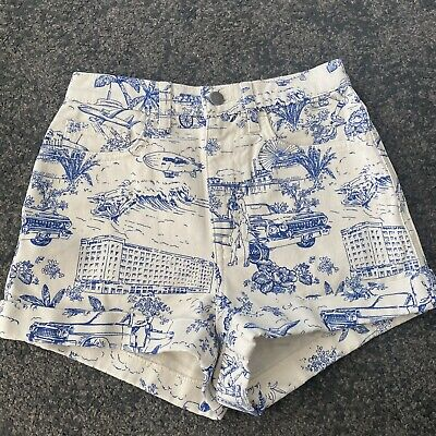 Sanctuary Womens Shorts Yellow Size 28 Fearless High Button Fly Denim $79 620