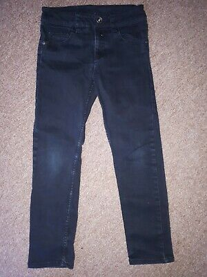 Boys H&M black Jeans Age 8 - 9 Years HARDLY WORN