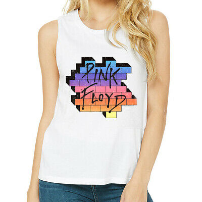 Pink Floyd The Wall Womens Tank Top Rock Band Album Cover Concert Tour Racerback