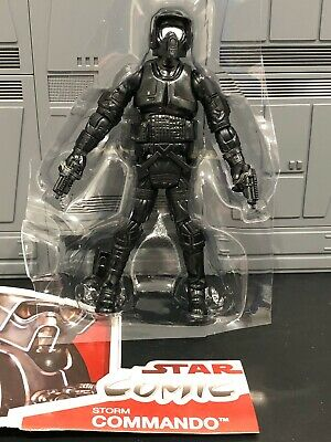 """Loose Star Wars Legacy Collection 3.75/"""" STORM COMMANDO Complete"""